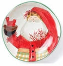 Vietri Old St. Nick Large Bowl