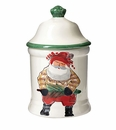 Vietri Old St. Nick Medium Canister