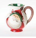 Vietri Old St. Nick Pitcher
