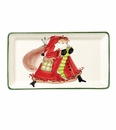 Vietri Old St. Nick Rectangular Platter