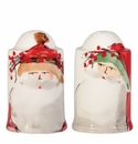 Vietri Old St. Nick Salt & Pepper