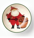 Vietri Old St Nick Serving Bowl
