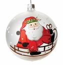 Vietri Old St. Nick Sled Ornament