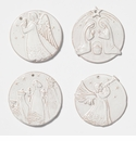 Vietri Ornaments Assorted Religious Ornaments Boxed
