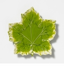 Vietri Reactive Leaves Small Plate