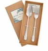 Vietri Settimocielo Stainless Serving Set (Fork & Spoon)