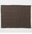 Vietri Whipstitch Chocolate with Natural Placemat