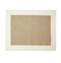 Vietri Whipstitch Ivory Woven Placemat