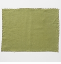 Vietri Whipstitch Olive with Natural Placemat