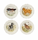 Vietri Wildlife Assorted Salad Plates
