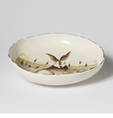 Vietri Wildlife Hare Shallow Serving Bowl