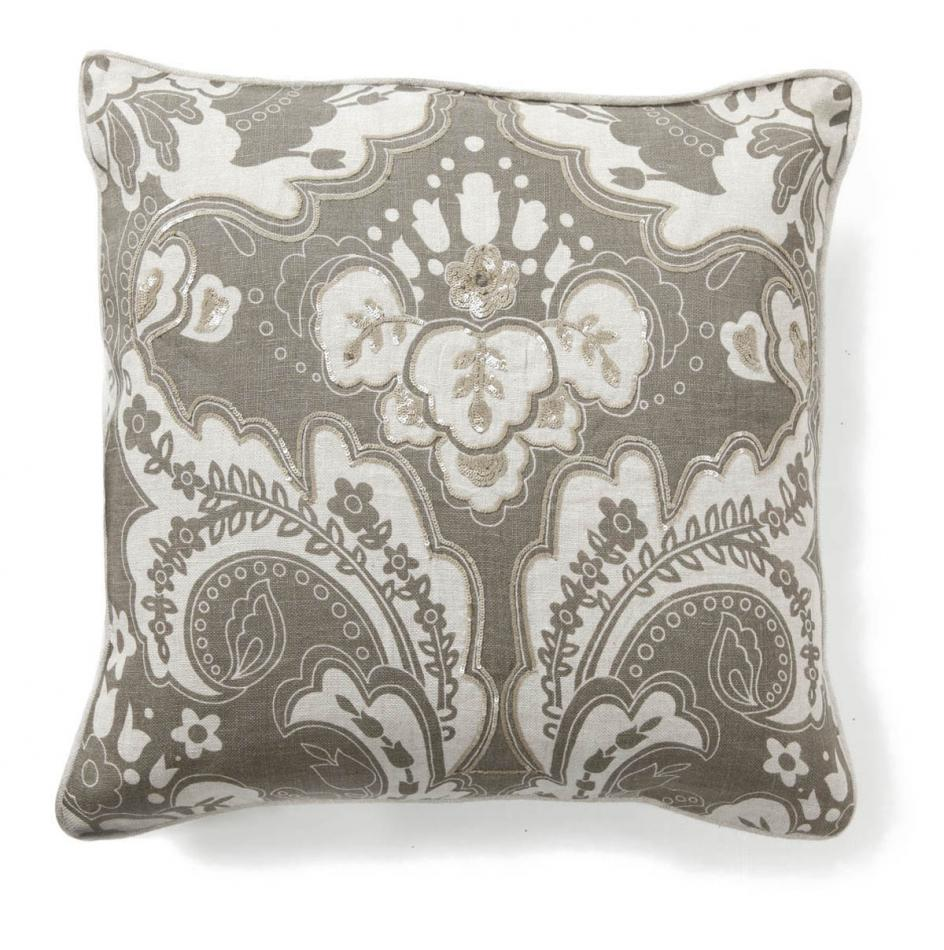 Villa Accent Pillow 18 x 18 Luxe Stone $56.25, You Save $18.70