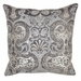 Villa Accent Pillow 22 x 22 Allure Silver