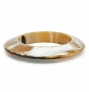 Vivo Studio 3 Dimensional Hollow Horn Bangle