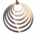 Vivo Studios Buffalo Concentric Circle Pendant