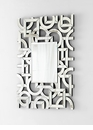 Volos Modern Art Wall Mirror by Cyan Design
