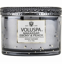 Voluspa Makassar Ebony & Peach Fragrance Collection