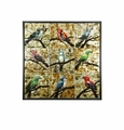 Wall Art Textured Birds by Stylecraft