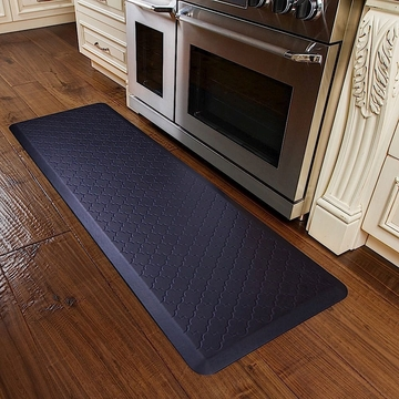 WellnessMats 6x2 Trellis Midnight Blue
