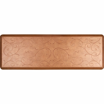 WellnessMats 6x2 Estates Collection Essential Series Copper Leaf Bella