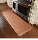 WellnessMats 6x2 Trellis Copper Leaf