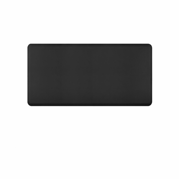 Wellnessmats Anti Fatigue Kitchen Floor Mat Black 6x3