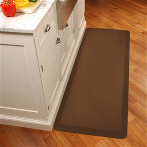 Wellnessmats Anti Fatigue Kitchen Floor Mat Brown 6x2