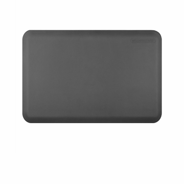 Wellnessmats Anti-Fatigue Kitchen Floor Mat-Grey-3x2