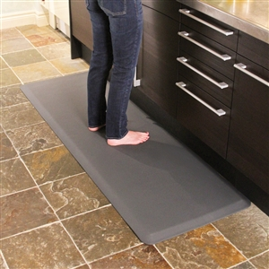 Wellnessmats Anti Fatigue Kitchen Floor Mat Grey 6x2