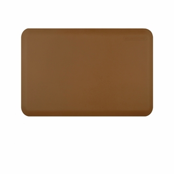 Wellnessmats Anti-Fatigue Kitchen Floor Mat-Tan-3x2