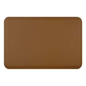 Wellnessmats Anti Fatigue Kitchen Floor Mat Tan 3x2