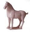 Dessau Home White Celedon Horse Home Decor