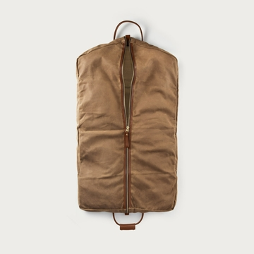 White Wing Waxed Canvas Hanging Garment Bag