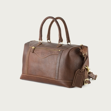 White Wing Leather Travel Bag