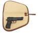 White Wing Waxed Canvas Taco Pistol Case