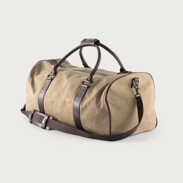 White Wing Waxed Canvas Field Medium Duffle Bag