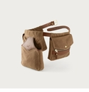 White Wing Waxed Canvas & Leather Game Bird Bags with Belt