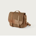 White Wing Waxed Canvas Messenger Bag