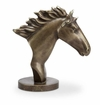 Wild Horse Bust Sculpture by SPI Home