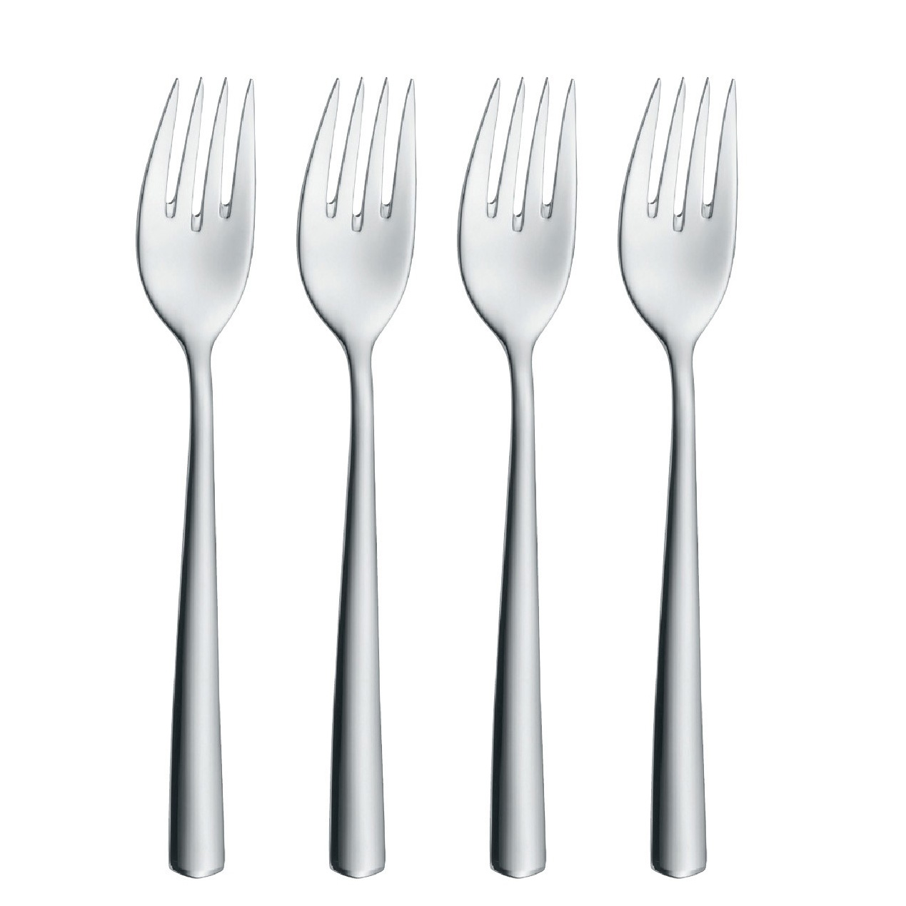 wmf bistro 4 salad forks. Black Bedroom Furniture Sets. Home Design Ideas