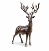Woodlands King Buck Deer Sculpture by SPI Home