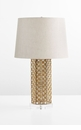 Woven Gold Table Lamp by Cyan Design