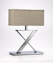 X Iron Table Lamp by Cyan Design
