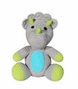 "Zubels Triceratops 8"" Hand Knit Doll"