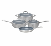 Zwilling Spirit Stainless Steel 7 Piece Cookware Set
