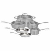 Zwilling Spirit Stainless Steel Cookware 10Pc Set