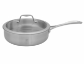 Zwilling Spirit Stainless Steel Covered Saute Pan 3qt.