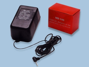220V Adapter for Sony® Mini Disc Recorder