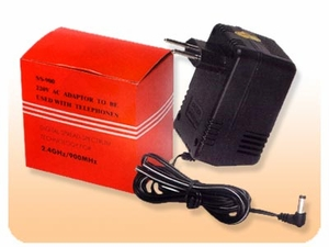 AC/DC Adapter for 220V AC to 9V DC - 1000mA