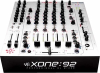 Allen & Heath Xone:92 6-Channel Mixer / Linear Fader Version - Free Shipping